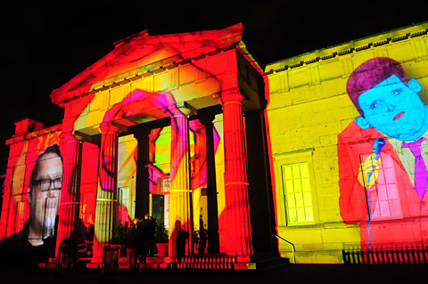 A scene from this year's Illuminating York