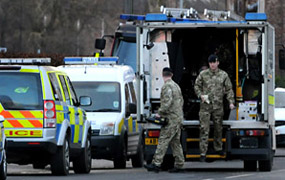 Drama in York after workman finds unexploded bomb