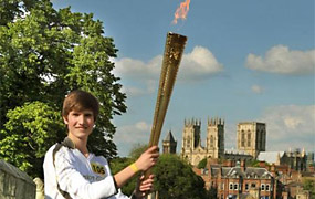 Olympic Torch in York