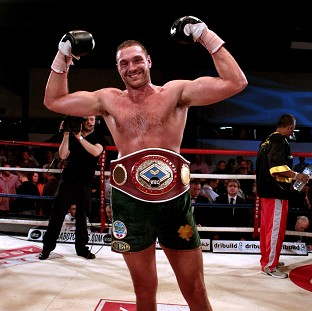 Tyson Fury, pictured, is relishing a clash against 'world-class' fighter Kevin Johnson