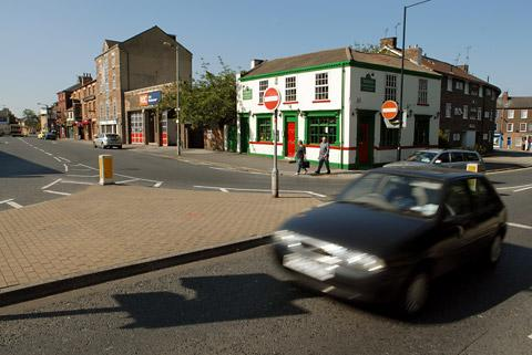 The Paragon/Fawcett Street junction which will see improved pedestrian crossings installed