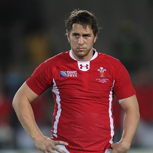 Ryan Jones will lead Wales for a record 29th time