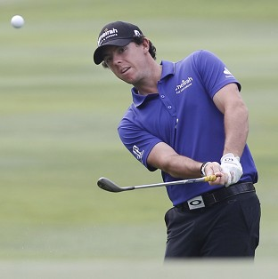 Rory McIlroy has missed the cut at the Hong Kong Open (AP)