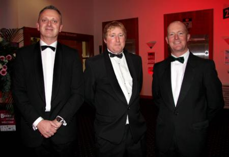 Matthew Ward, David Hallam and Chris Ibbotson