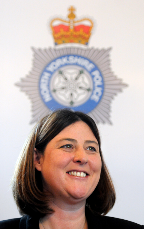 Julia Mulligan, who says appointing a new chief constable for North Yorkshire is her top priority