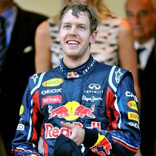 Sebastian Vettel was fastest in first practice for the United States Grand Prix