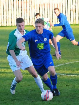 Pickering's two-goal striker Liam Salt