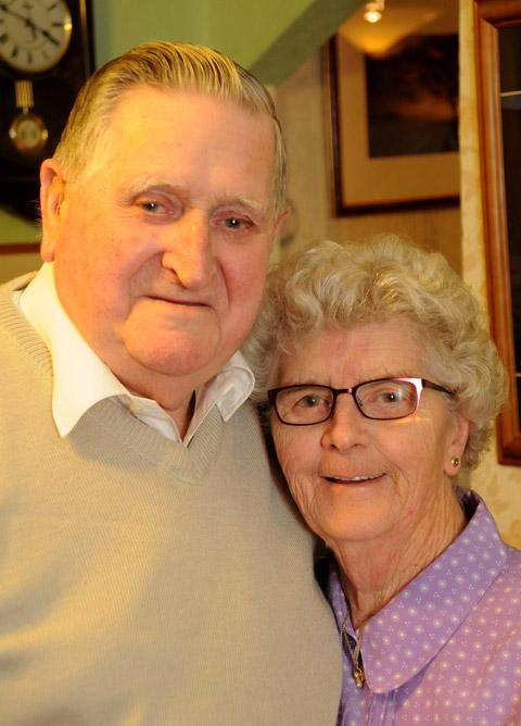 Keith and Anne Craig, of Easingwold, celebrating their Diamond Wedding