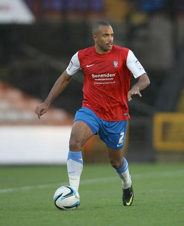 York City's Lanre Oyebanjo. Picture: Gordon Clayton