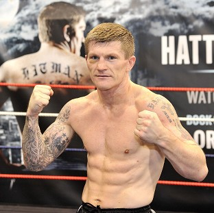 Ricky Hatton, pictured, is ready and raring to go against Vyacheslav Senchenko
