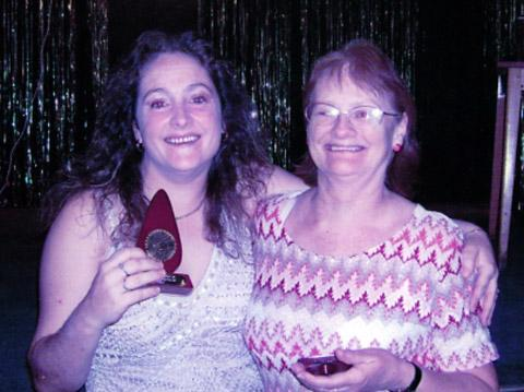 Sandra Pallister and daughter Linda Embleton