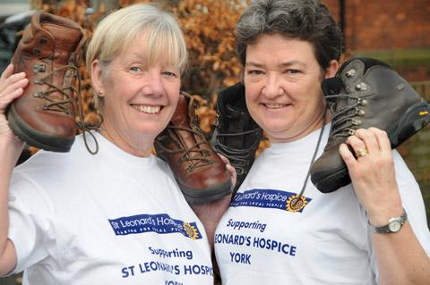 Helen Glendinning, left, and Lorraine Bradshaw