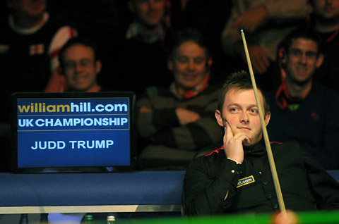 'Pistol' is firing from lip again and gunning for UK Snooker crown