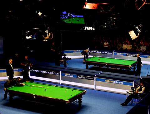 Action from last year's record-topping UK Championship