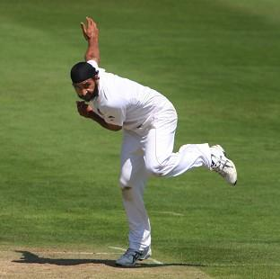 York Press: Monty Panesar continued to shine on a pitch which proved difficult for England's bowlers