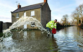 York Press: Flooding in and around York in November 2012