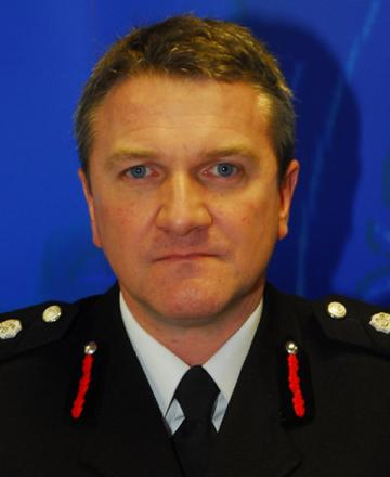 North Yorkshire chief fire officer Nigel Hutchinson