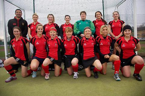 City of York Hockey Club ladies first team