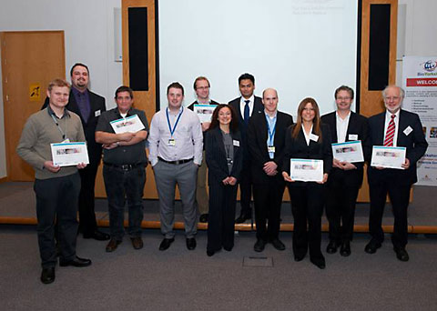 Some of the winners at the Aptamer event
