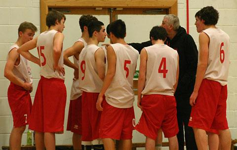 York U16s get more pointers from coach Dave Smith