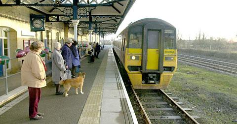 A call has been made to run trains from Malton station, above, to Pickering