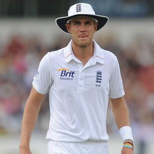 Stuart Broad, pictured, and Steven Finn will return to England due to injury
