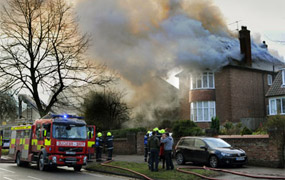 Major house fire in York