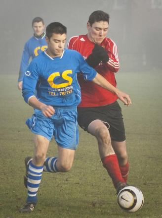 Tom Kilvington, who sealed victory for Haxby with the only goal of the game against Church Fenton