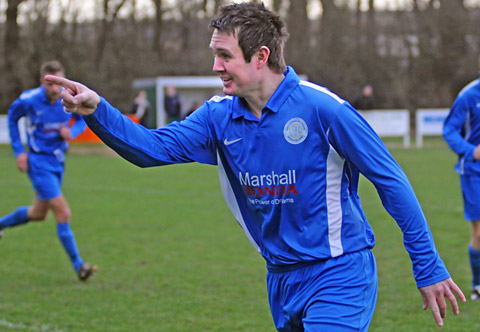 Neil Wilford was among the scorers for Old Malton St Mary's Reserves in a 5-0 win over Riccall