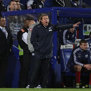 Harry Redknapp was fuming with the officials after QPR went down to West Brom