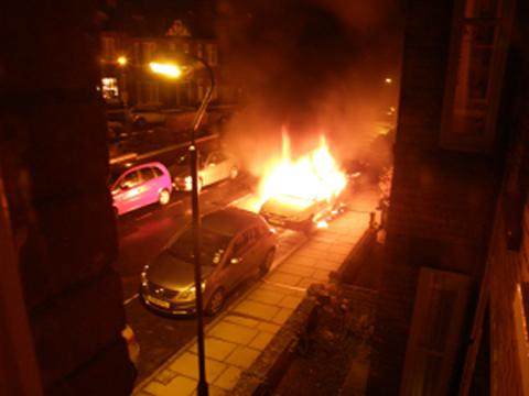 Cars destroyed in York arson attacks