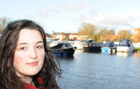York Press: Leah Curtis, who plunged into the freezing river to save a man