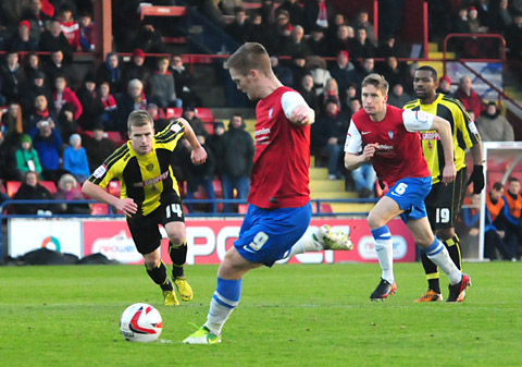 York City 3, Burton Albion 0