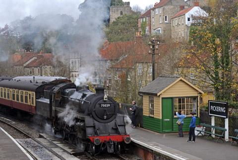 Ride on a heritage steam locomotive