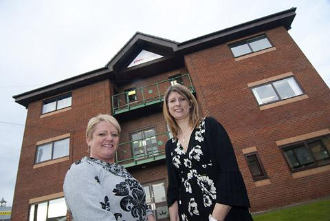 Vicky McIver, managing director, and Jenny Baillie, marketing manager for  Power Health Products
