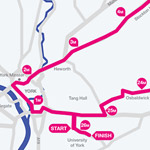 York Press: View a route map of the York marathon