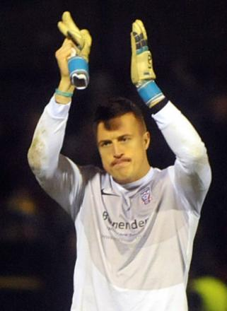 York City goalkeeper Michael Ingham