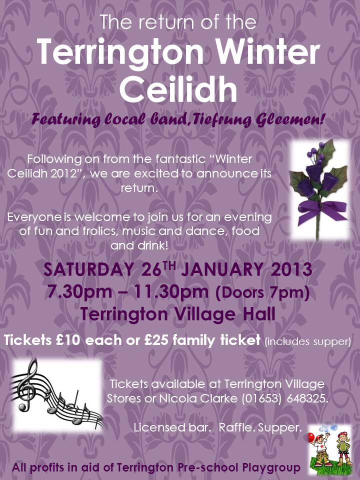 Terrington Winter Ceilidh