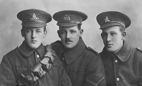 Do you know anything about these men or this photograph, which was found inside a book in a York shop?