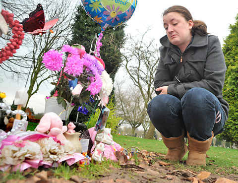 'Life is so hard now. I think of my little girl every day'