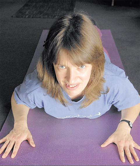 Anna Semlyen, who says yoga is a proven method to ease problems with lower backache
