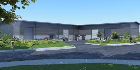 An artist's impression of the new Rose Centre Business Park at Nether Poppleton, York, which has gained planning permission