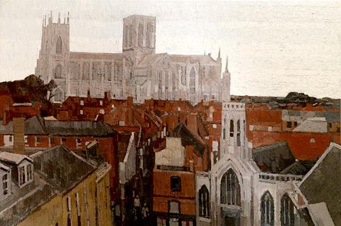 One of Jake Attree's views of his home city of York
