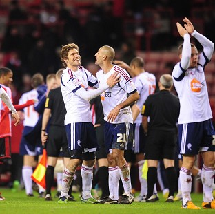 Bolton progressed thanks to Marvin Sordell's brace