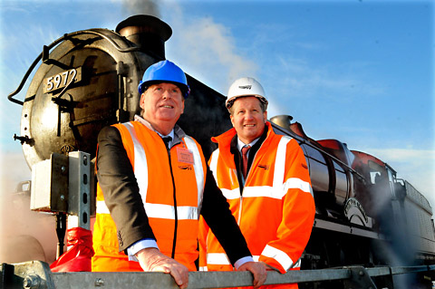 Rail Minister visits work on new £36 million complex