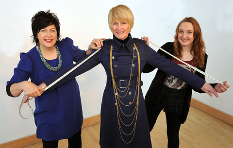 Fashion students design dresses for Lord Mayor's charity ball