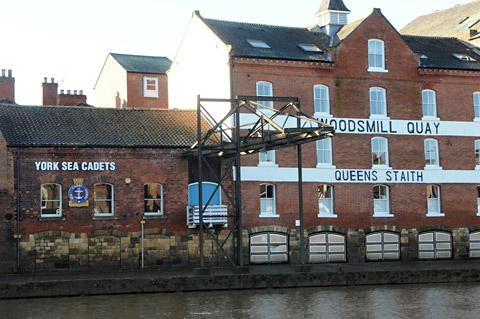 Plans to demolish the crane next to the York Sea Cadets building have now been shelved