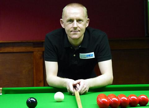 York Press: Pickering snooker  professional Paul Davison