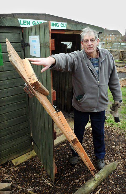 Thieves in £2,000 raid on York allotments