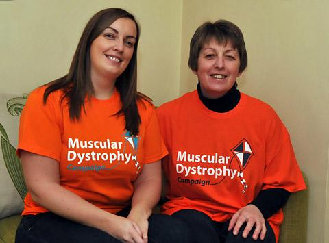 Clare Russell, left, and Jane Bugg, who are setting up a help group for muscular dystrophy